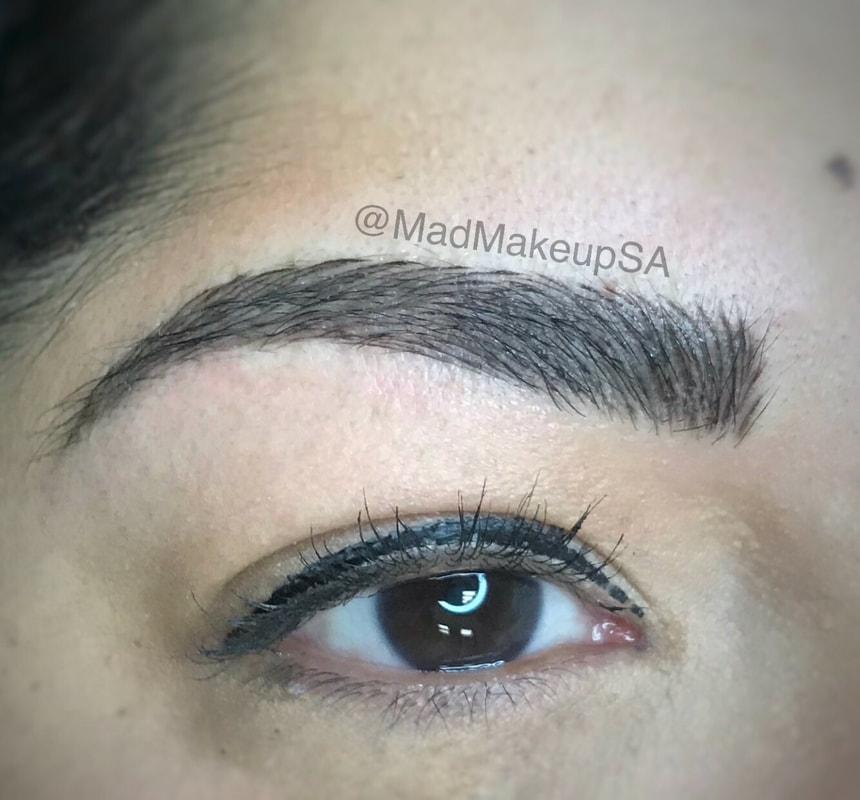 Permanent cosmetic makeup san antonio texas mad for Eyebrow tattoo microblading